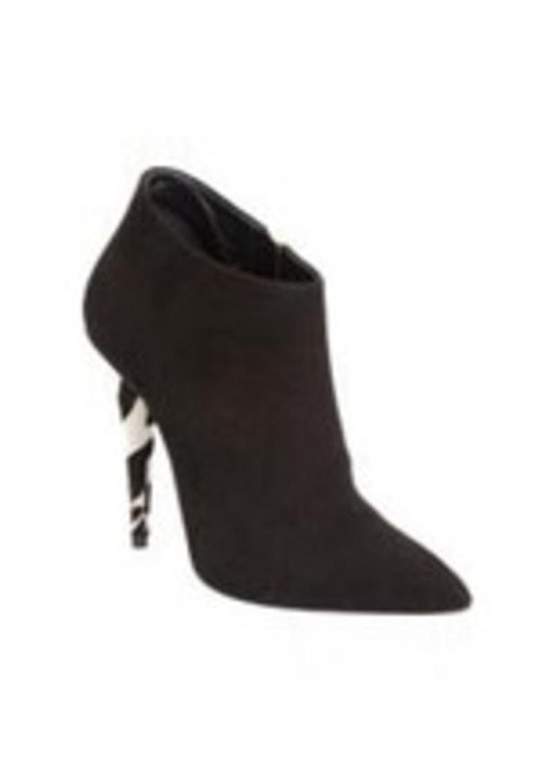 Giuseppe Zanotti Ponyhair Heel Ankle Boot