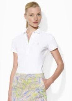 Paisley Cotton Polo