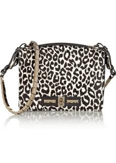 Valentino Leopard-print calf hair shoulder bag