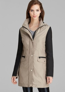 Laundry by Shelli Segal Anorak - Soft Color Block Windbreaker