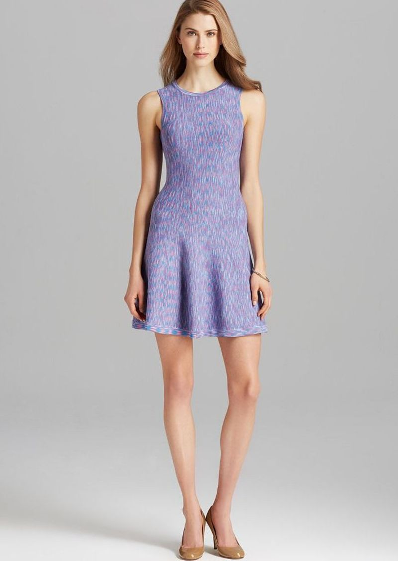 Shoshanna Dress - Becky Space Dyed Sleeveless Sweater