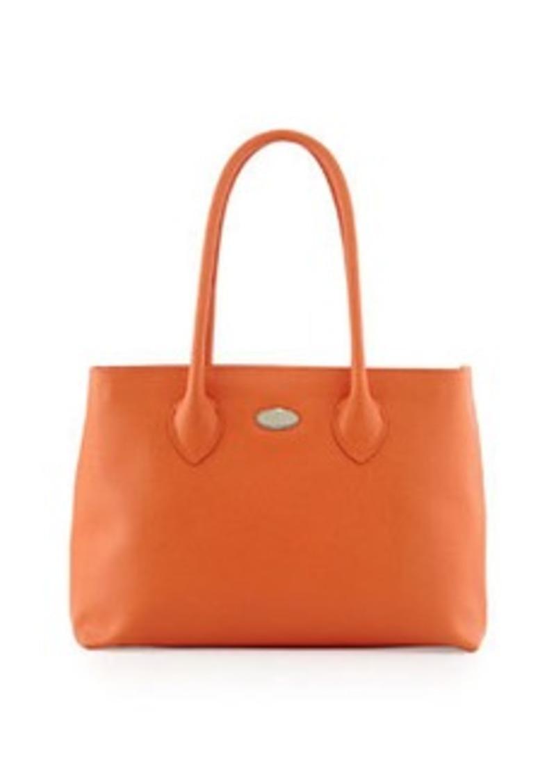 furla furla d light small tote bag orange handbags shop it to me. Black Bedroom Furniture Sets. Home Design Ideas