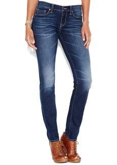 Lucky Brand Sofia Skinny Jeans, Cobalt Blue Wash