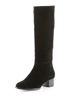 Joie Joie Suede Mid-Calf Boot, Black