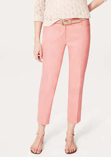 Slouchy Linen Blend Ankle Pants in Marisa Fit