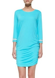 MICHAEL Michael Kors Ruch-Side Coverup