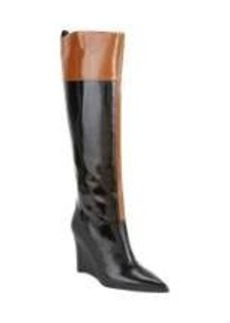 Derek Lam Mila Contrast-Trim Knee Boots