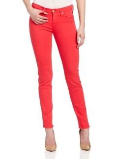 Vivienne Westwood for Lee Women's Skinny Jean in Red Painted