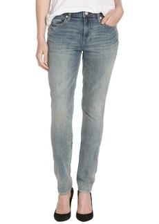 Paper Denim & Cloth 4 year light wash cotton stretch super skinny denim jeans