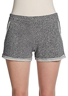 Saks Fifth Avenue BLUE Raw Edge Shorts