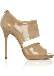Jimmy Choo Private patent-leather sandals