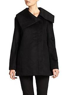 Saks Fifth Avenue BLACK Cashmere Asymmetrical Jacket