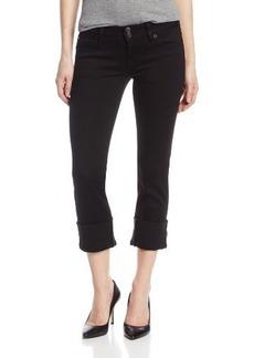 Hudson Jeans Women's Ginny Crop Jean In Black