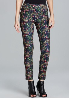 Cynthia Rowley Leggings - Jeweled Floral Bonded