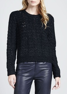 J Brand Ready to Wear Hester Knit Merino-Blend Sweater
