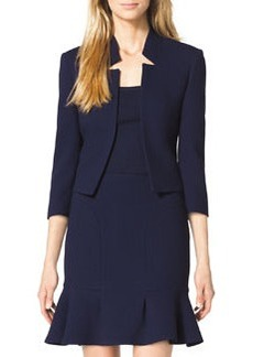 Michael Kors Inverted-Collar Jacket