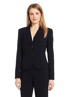 Calvin Klein Women's 2 Button Suit Jacket