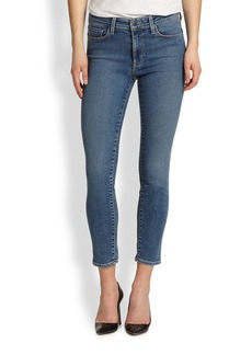 Genetic Loren High-Rise Cropped Skinny Jeans