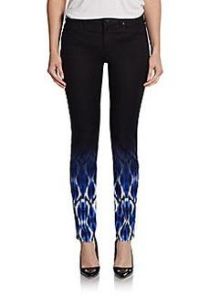 Elie Tahari Selena Ikat Print Skinny Pants