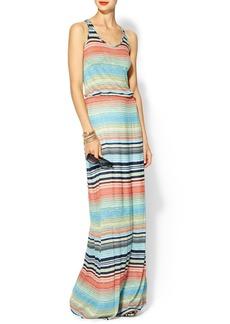 Michael Stars Exclusive Happy Stripe Highline Maxi Dress