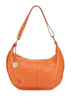 Furla Danielle Leather Hobo Bag, Deep Coral