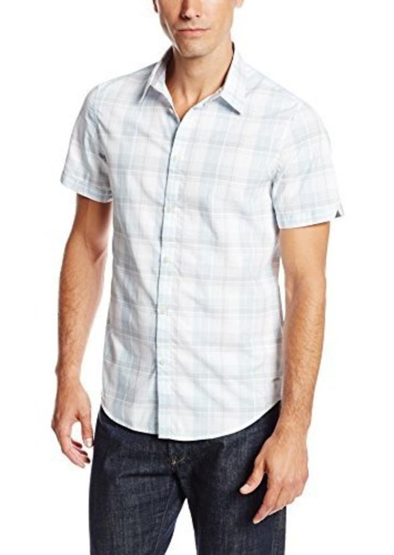 Calvin Klein Calvin Klein Jeans Men 39 S Short Sleeve Plaid