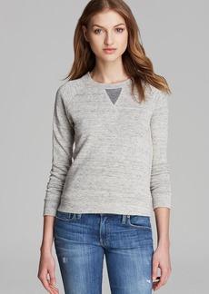 J Brand Sweatshirt - Debbie College Fleece