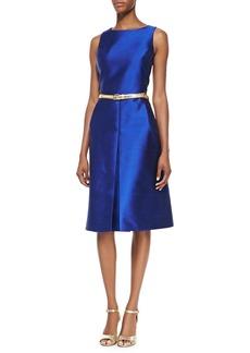 Michael Kors Shantung A-Line Dress