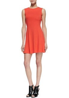 French Connection Viven Paneled Jersey Dress