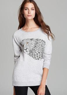 Soft Joie Sweatshirt - Annora Tiger Print