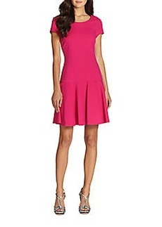 Diane von Furstenberg Marley Cap-Sleeve Dress