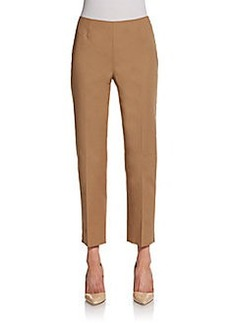 Lafayette 148 New York Stretch-Cotton Ankle Pants
