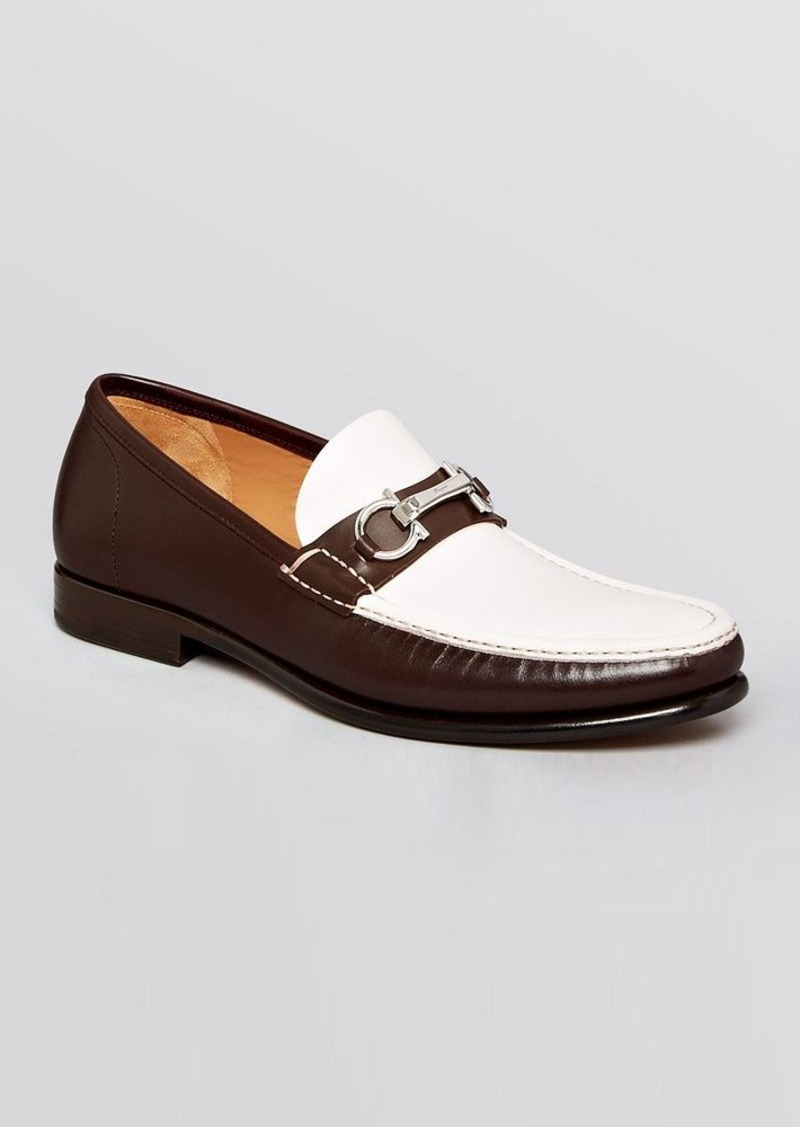 ferragamo salvatore ferragamo raffaele bit spectator loafers shoes shop it to me. Black Bedroom Furniture Sets. Home Design Ideas