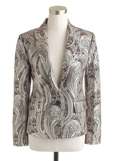 Collection Rylan blazer in gilded paisley jacquard