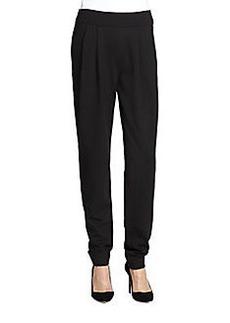 Donna Karan Pleat Front Pants