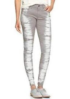 1969 tie-dye legging jeans