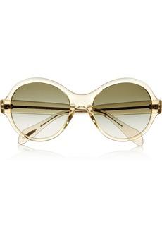 Oliver Peoples Lipsofire round-frame acetate sunglasses