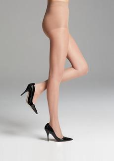 Donna Karan Hosiery Tights - Bronzing Sheer Control Top #OB818