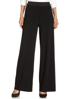 Alfani Petite Pants, Wide-Leg Trousers