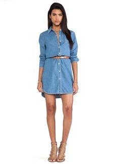 Paper Denim & Cloth Ryan Dress in Blue