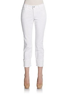 Lafayette 148 New York Cropped Cuff Pants