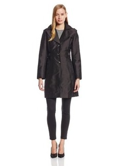 Kenneth Cole New York Women's Single-Breasted Trench Coat