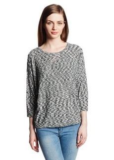 Kensie Women's Space Dye Slub Sweater