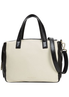 Isaac Mizrahi Pebbled Leather Pamela Satchel