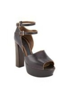 Marni Double Buckle Mary-Jane Platform Pumps
