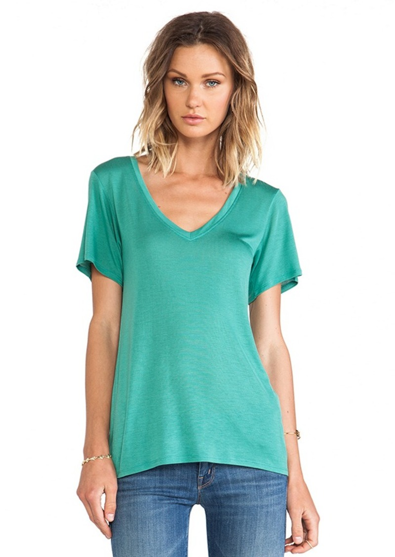 AG Adriano Goldschmied Wren Tee in Green
