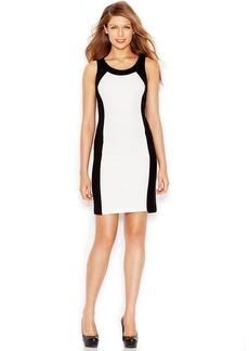 kensie Colorblocked Sheath Dress
