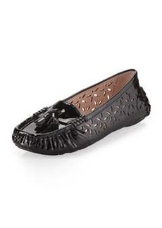 Taryn Rose Carissa Moc-Toe Flat, Black