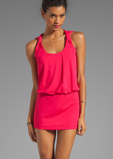 Susana Monaco Jordana 18' Tank Dress in Fuchsia
