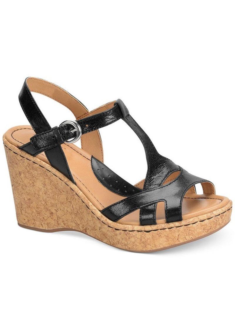 Boc Teah Wedge Sandals Women S Shoes
